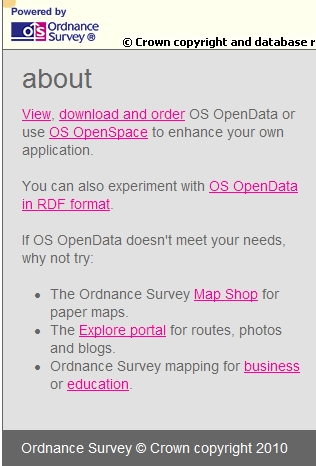 Ordnance Survey map tools for pupils
