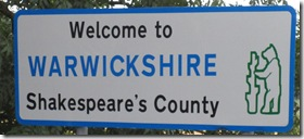 Warwicks Road Sign